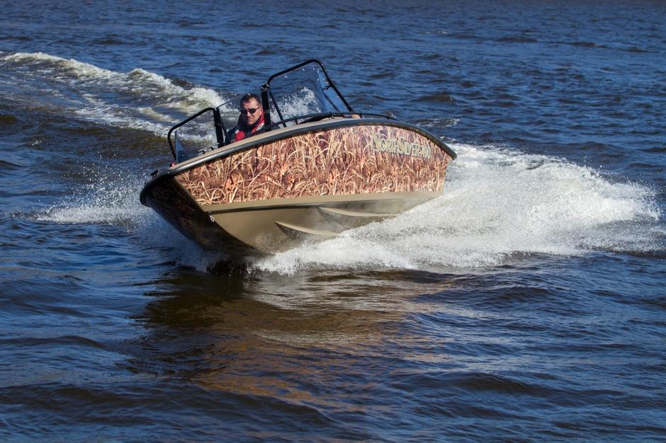 лодка с малой осадкой