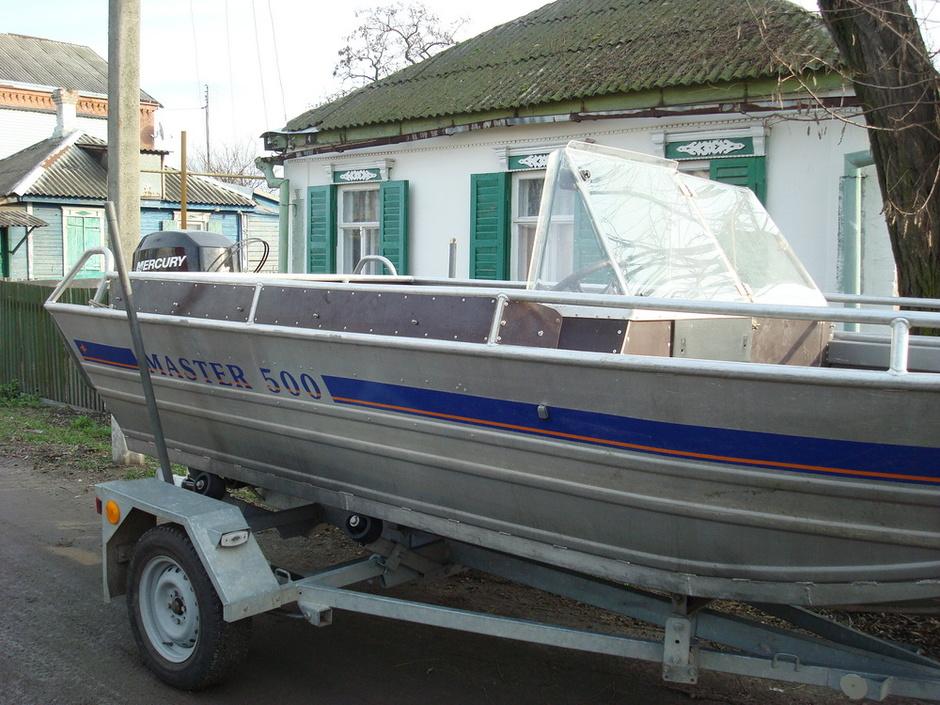 моторные лодки мастер 500