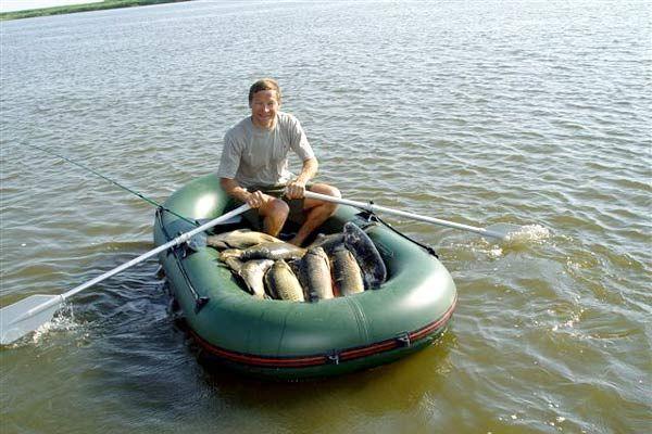 надувная лодка для рыбалки своими руками